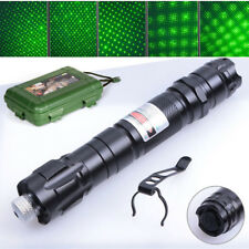 Powerful Military 532nm 303 Green Laser Pointer Pen Burning Beam Charger 50Miles