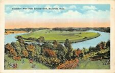 KNOXVILLE TN~HORSESHOE BEND FROM COUNTRY CLUB-1920s POSTCARD