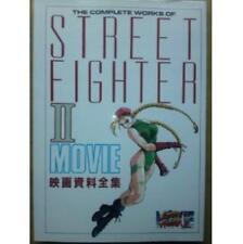 STREET FIGHTER II MOVIE analytics illustration art book