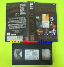 VHS QUEEN Live in rio 1985 PMI 60 MINUTI freddie mercury may cd mc dvd lp(VM5)*