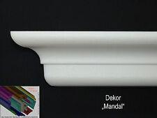 "26 Meter+ 4 I-A Ecken 6cm x 7cm  Stuckleisten Stuckprofile Zierleisten ""Mandal"""