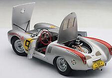 Autoart PORSCHE 550 1500 SPYDER PANAMERICANA 1954 HERRMANN #55 1/18 In Stk