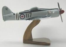 Hawker FB-11 Sea Fury Airplane Desktop Wood Model Large