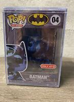 Funko Pop DC Art Artist Series Batman #04 Version 4 Target Exclusive New In-Hand