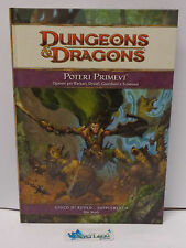 Gioco di Ruolo Game Manual Manuale Dungeons & Dragons D&D ITA - Poteri Primevi -