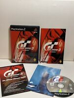 Gran Turismo 3 A-Spec (PlayStation 2)  Ps2 Game With Manual