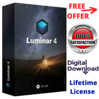 Luminar v4 2020 For PC Windows Photo Editor Activation Lifetime License Software