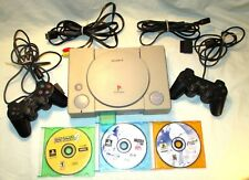 Sony PlayStation 1 PS1 Console System Controllers Games Memory Card Dual Shock