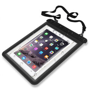 """Universal Waterproof Case, Dry Bag Pouch for iPad 7 / 8th 10.2"""", 5 / 6th 9.7"""" CA"""