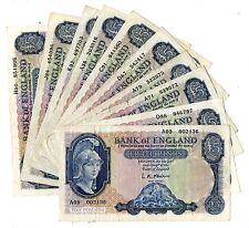 Helmeted Britannia L.K.O'Brien £5 Clean VF Condition