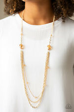 Paparazzi Jewelry Necklace ~ Dare To Dazzle - Gold
