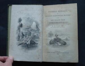 POLYNESIAN MYTHOLOGY & Ancient Traditional History of New Zealand Race: 1st 1855