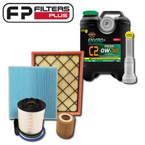 Wesfil Filter Kit with Genuine Fuel Filter + 10L Oil Fits Ford Raptor Bi-Turbo