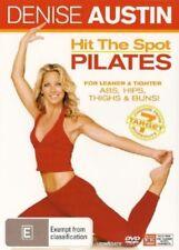 Denise Austin - Hit The Spot Pilates (DVD, 2008) - Very Good Condition