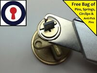 Locksmith Circlip remover Euro, Oval and Rim Cylinders **FREE BITS** 1st P&P