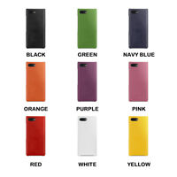 For BlackBerry KEY2 KeyTwo TETDED Genuine Leather Back Cover Snap Case  9 Color