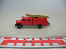 o615-0, 5 #Wiking H0 Model GK 610/32 (61N) Truck Saturn Fire Brigade
