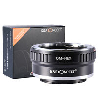 K&F Concept Adapter OM-NEX for Olympus OM Lens to Sony NEX E Mount Camera