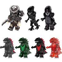 Alien vs. Predator Godzilla Figuren Spiel Film Action Sammlung Mini Horror Figur