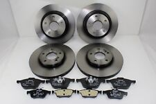 Original Brake Discs + Brake Pads Front+Rear Ford Focus MK3 59990000