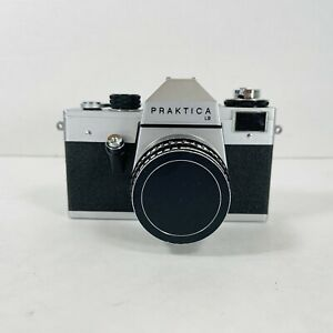Praktica LB 35mm Film Camera Made In German Democratic Republic