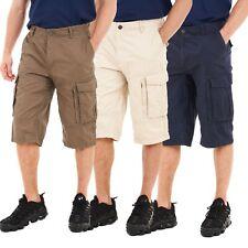 Mens Ex Debenhams Cargo Shorts 3/4 Combat Utility Chino Long Three Quarter Pants