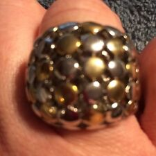 LATASIA RING GOLD/SILVER SIZE 7
