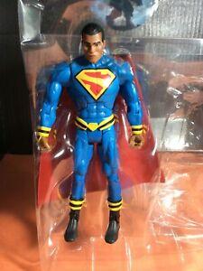 "DC MULTIVERSE EARTH 23-SUPERMAN-Calvin Ellis 6"" FIGURE Mattel (loose & New)"