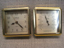 Danbury Analog Gauges for Weather Station - Clock and Thermometer