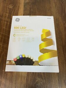 GE Color Choice 600Ct 124 ft Color Changing MicroBright LED Light 8 Function NEW