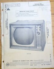 VINTAGE PACKARD BELL TV TELEVISION 98C7D 98C8 MANUAL ELECTRICAL SCHEMATIC SET744