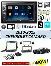 Chevrolet Camaro 2010-2015 DOUBLE DIN CAR STEREO KIT DVD BLUETOOTH TOUCHSCREEN