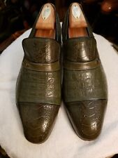 MaSeratti Genuine ostrich Dress Shoes Sz 8.5-M