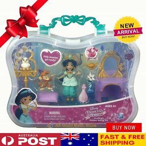 Little Kingdom Jasmine Golden Vanity Set Disney Princess Doll Play set Gift New