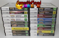 Genuine Pokemon Nintendo DS 2DS 3DS Games Dropdown Ultimate Selection