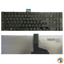 NEW LAPTOP KEYBOARD FOR TOSHIBA SATELLITE P850-12X NOTEBOOK UK BLACK WITH FRAME