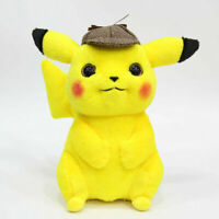 "Pokemon Detective Pikachu 11"" Collectible Soft Stuffed Doll Plush Toy Kid Gift"