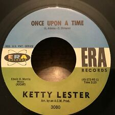 Ketty Lester Once Upon a Time / But Not For Me 45 VG++