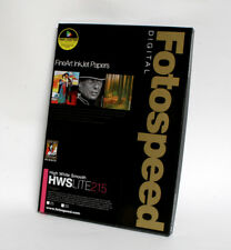 Fotospeed  - EG High White Smooth LITE 215 A3 25 Sheets