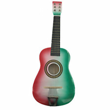 "23"" Kids Mexico Color Acoustic Guitar Toy 6 String Adjustable Classic Beginners"