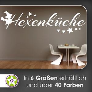 Waf0977 - Hexenküche Wall Tattoo Kiwistar - Sticker