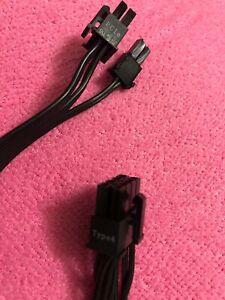 Corsair PCI-e VGA Power Supply Cable FOR CORSAIR  CX550M  CX650M  CX750M  RM650X