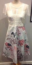 WOMENS NEXT SHORT SLEEVE SUMMER DRESS SIZE 20 GOOD QUALITY,LINED BODICE BNWT £85