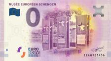 Billet Touristique 0 Euro --- Musée européen Schengen -  2018-1