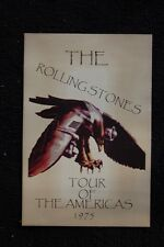 The Rolling Stones Poster 1975 Tour of Americas