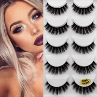 Wispy  Flutter Lashes 3D Mink Hair False Eyelashes Extension Tools Thick Long