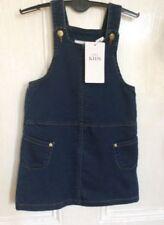 Marks and Spencer Blue Sleeveless Dresses (2-16 Years) for Girls
