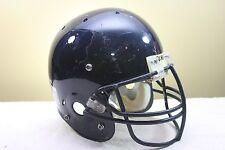 Schutt AiR Jr Used Worn Youth Football Helmet Navy/Orange Med. Opo mask 2008 C