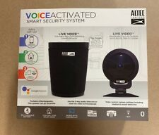 Altec Lansing Voice Activated Smart Security System Portable speaker New Sealed