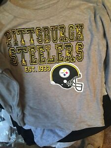 New W/tags NFL Pittsburgh Steelers T Shirts Shirt.  3 Styles Av 2T 3T 4T Sizes
